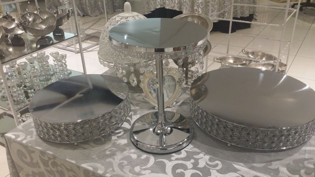 Cake Stands Wedding Party