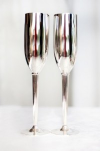 Silver Plated Champagne Set - R299 per set