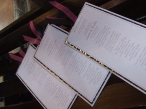 reception stationery 2